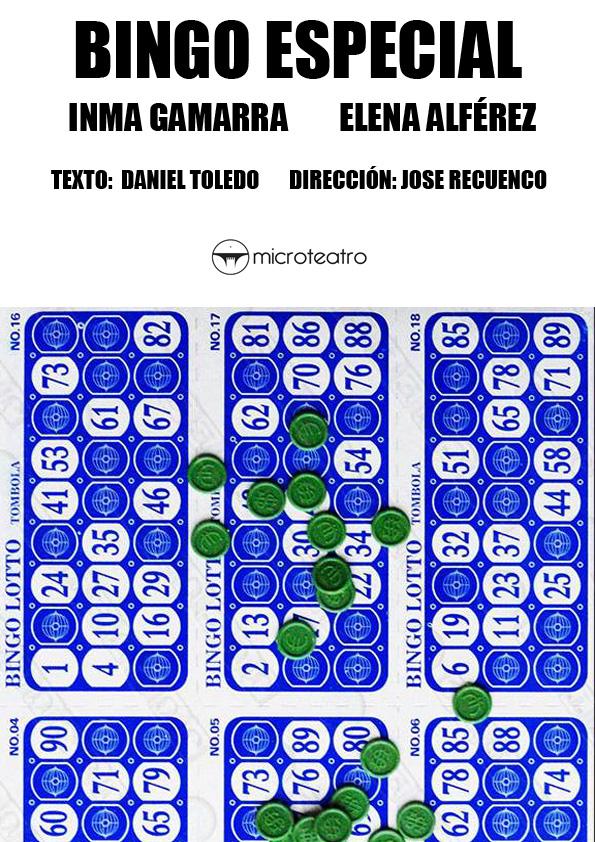 Bingo especial - Microteatro