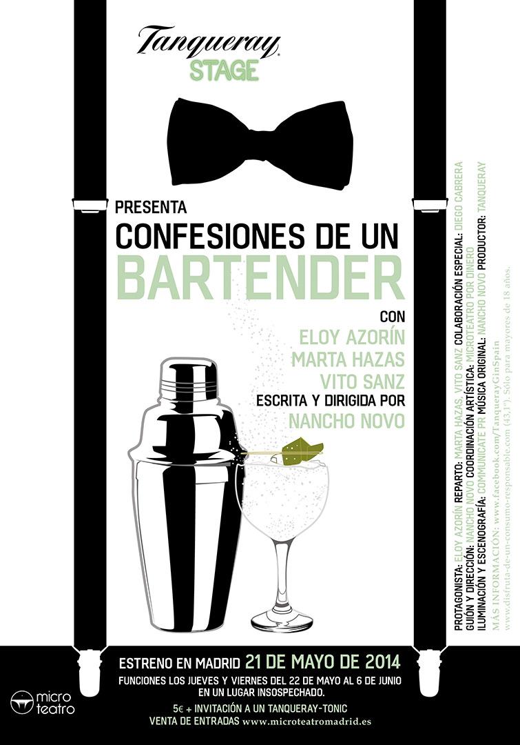 Confesiones de un bartender.  - Microteatro