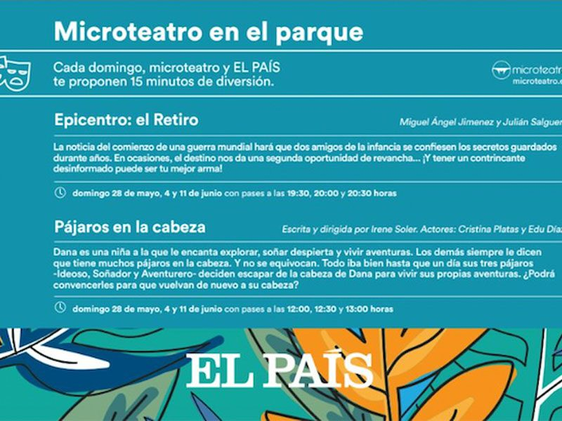 Microteatro con El País