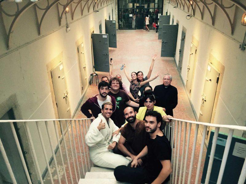 Microteatro en la cárcel de Segovia